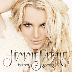 Britney Spears' latest album, Femme Fatale, was released on March 29.